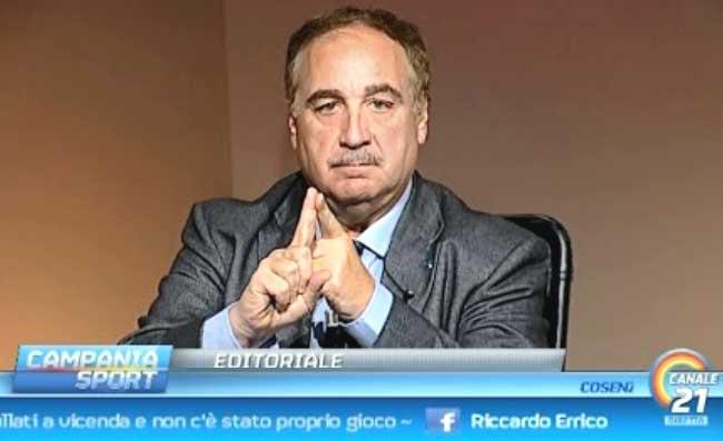 """Chiariello: """"Simm' o Napule e amma vencere? Non sta scritto da nessuna parte, crescete!"""""""