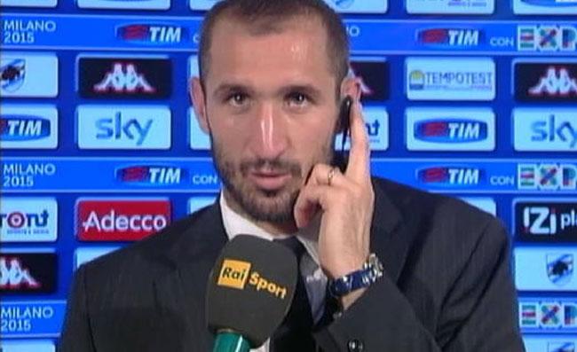 Juventus-Napoli, Chiellini: