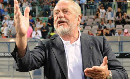 Napoli News: San Paolo, De Magistris risponde a De Laurentiis
