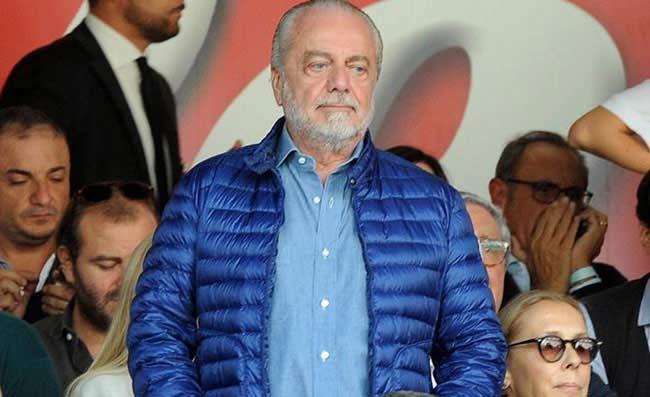 Napoli: sfuriata di De Laurentiis negli spogliatoi, dopo il ko col Besiktas