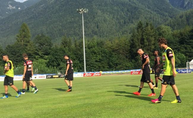 Amichevole 2017, il Napoli travolge il Trento per 7-0