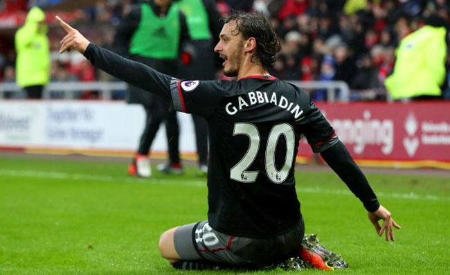 Video Gol Gabbiadini, Doppietta in Sunderland-Southampton