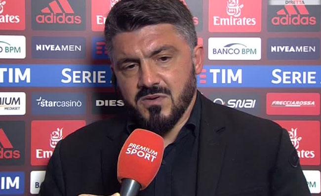 """Higuain dice addio al Milan? Gattuso commenta: """"Quando un calciatore fa delle scelte..."""""""