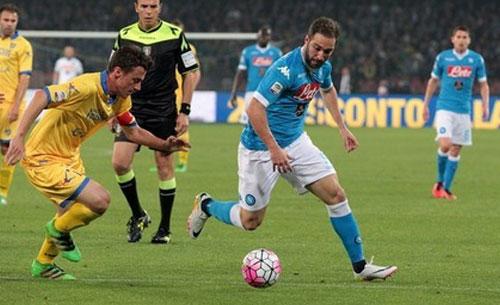 Commento Adani sul Gol di Higuain in Napoli-Frosinone