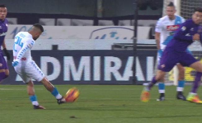 Stasera Napoli-Fiorentina. I convocati azzurri