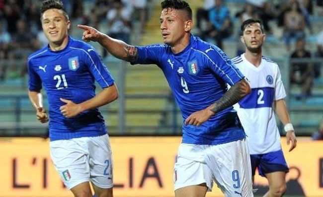 Calcio, a Empoli San Marino sfida una giovane Italia