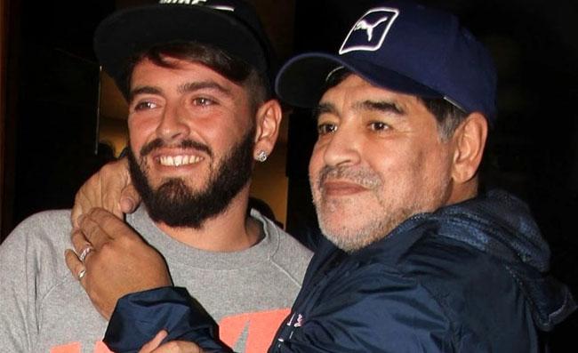 """Sinagra: """"Nonno Maradona spera che il nipote possa ..."""