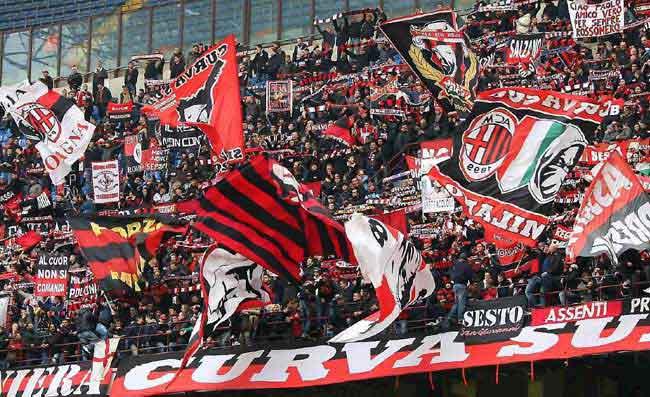 Image result for milan tifosi