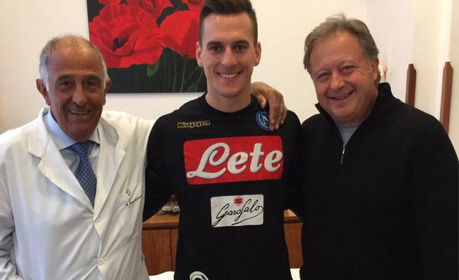 Napoli, l'ex rossonero Gilardino si propone per sostituire Milik
