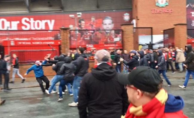 Risultati immagini per tifoso della Roma Daniele Sciusco è stato condannato a Liverpool