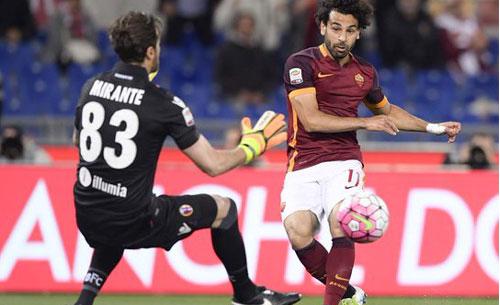 Roma, Salah ceduto al Liverpool