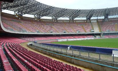 Lavori Stadio San Paolo: si sta procedendo allo smontaggio dei seggiolini